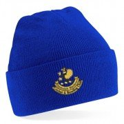 Ribblesdale Wanderers Cricket and Bowling Club Blue Beanie