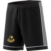 Ribblesdale Wanderers Cricket and Bowling Club Adidas Black Junior Training Shorts
