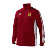 Altofts CC Adidas Red Training Top