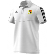 Altofts CC Adidas White Polo