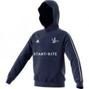 Stiffkey CC Adidas Navy Junior Hoody