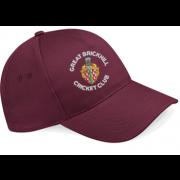 Great Brickhill CC Maroon Baseball Cap