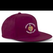 Great Brickhill CC Maroon Snapback Hat