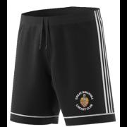 Great Brickhill CC Adidas Black Training Shorts