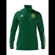 Stoke Green CC Adidas Green Zip Training Top
