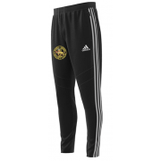 Stoke Green CC Adidas Black Training Pants