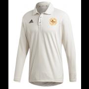 Stoke Green CC Adidas Elite Long Sleeve Shirt