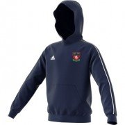 Cudham Wyse CC Adidas Navy Junior Fleece Hoody