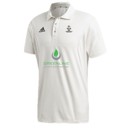 Sawbridgeworth CC Adidas Elite Junior Short Sleeve Shirt