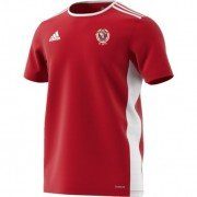 St George's Church CC Adidas Red Training Jersey