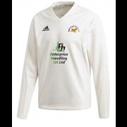Eggborough Power Station CC Adidas Elite Long Sleeve Sweater
