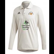 Eggborough Power Station CC Adidas Elite Long Sleeve Shirt