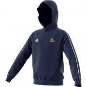 Hensall CC Adidas Navy Junior Hoody