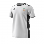 Hensall CC Adidas White Training Jersey