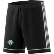Abergele CC Adidas Black Junior Training Shorts