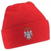 Keighley CC Red Beanie