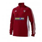 Keighley CC Adidas Red Junior Training Top