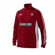 Keighley CC Adidas Red Training Top