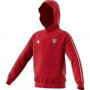 Keighley CC Adidas Red Junior Hoody