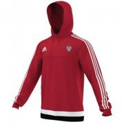 Keighley CC Adidas Red Hoody