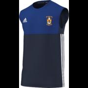 Silkstone Utd CC Adidas Navy Training Vest