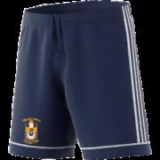 Silkstone Utd CC Adidas Navy Junior Training Shorts