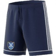 Pagham CC Adidas Navy Junior Training Shorts