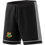 Stony Stratford CC Adidas Black Junior Training Shorts