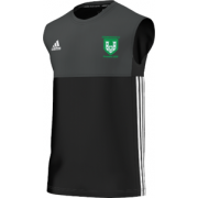 Stainborough CC Adidas Black Training Vest