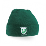 Stainborough CC Green Beanie
