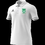 Stainborough CC Adidas White Polo