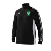 Stainborough CC Adidas Black Training Top