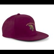 North Perrott CC Maroon Snapback Hat