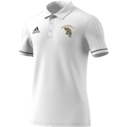 North Perrott CC Adidas White Polo