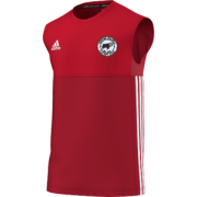 Hooton Pagnell CC Adidas Red Training Vest