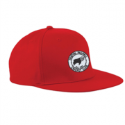 Hooton Pagnell CC Red Snapback Cap
