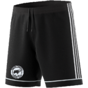 Hooton Pagnell CC Adidas Black Junior Training Shorts