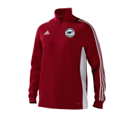 Hooton Pagnell CC Adidas Red Junior Training Top