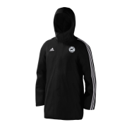 Hooton Pagnell CC Black Adidas Stadium Jacket