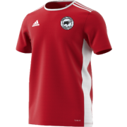 Hooton Pagnell CC Adidas Red Training Jersey