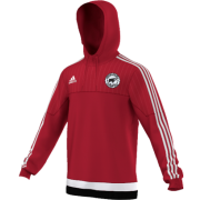 Hooton Pagnell CC Adidas Red Hoody