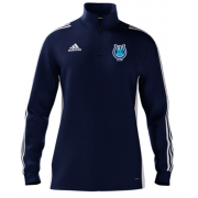 Carholme CC Adidas Navy Zip Junior Training Top