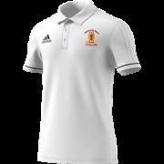 Nationwide House CC Adidas White Polo