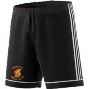 Irchester CC Adidas Black Training Shorts