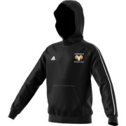 Airedale CC Adidas Black Junior Hoody