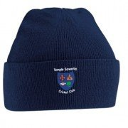 Temple Sowerby CC Navy Beanie