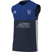 Mirfield CC Adidas Navy Training Vest