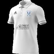 Mirfield CC Adidas White Polo