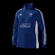 Mirfield CC Adidas Blue Junior Training Top