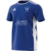 Mirfield CC Adidas Blue Junior Training Jersey